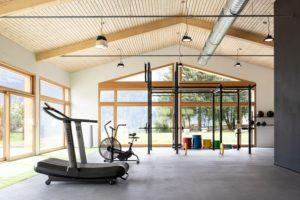 Neuer Gymnastikraum